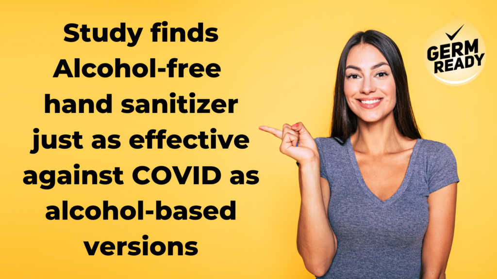 Alcohol-free Hand Sanitizer Effective Against COVID